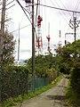 生駒山山頂の電波塔(Electromagnetic wave tower of the Mount Ikoma mountaintop) - panoramio (13).jpg