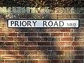 -2019-12-30 Street sign, Priory Road, Bacton, Norfolk.JPG