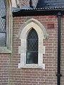 -2020-12-28 Window, east facing elevation, Cromer town cemetery chapel, Cromer, Norfolk (5).JPG