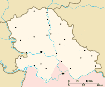 Положај Војводине