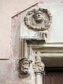009 Sant Jeroni de la Murtra, capella de Sant Sebastià, medalló de Sant Pere.JPG