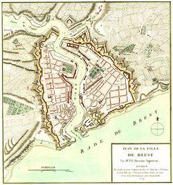 Map of Brest France The Full Wiki