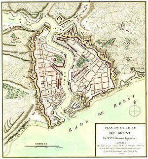 Brest, France - Brest in 1779