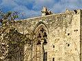 019 Monestir de Sant Cugat del Vallès, façana sud, detall.JPG