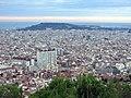 027 Gràcia, l'Eixample i Montjuïc des del turó de la Rovira.jpg