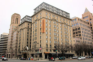 Crowne Plaza - Image: 1001 14th Street NW Washington DC Holiday Inn Hamilton Crowne Plaza Hotel