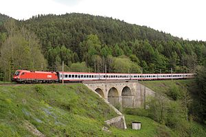 Austrian Federal Railways - InterCity (IC) on the Semmering railway