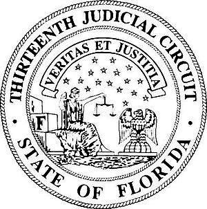 Thirteenth Judicial Circuit Court of Florida - Image: 13thseal copy 2