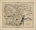 1593 map of Croatia during the Long Turkish War by Cornelius de Jode.jpg