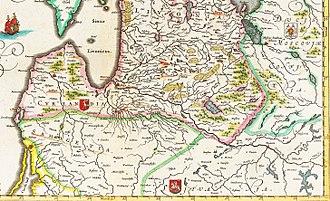 Duchy of Samogitia - Samogitia in the 17th century