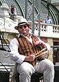 16er Buam, Klaus P. Steurer with his wooden spoons 20090426 191.jpg