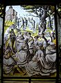16th century glass, St Mary, Glynde.JPG