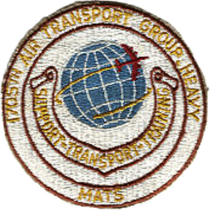 1705th Air Transport Group - Emblem of the 1705th Air Transport Group