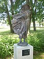 180729 Balatonalmádi szoborpark Farkas Ferenc Hokusai.jpg