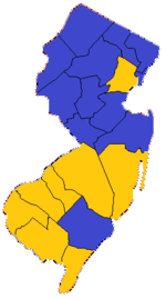 1853 New Jersey gubernatorial election results.png