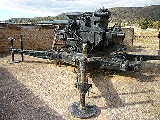 Lithgow Heavy Anti Aircraft Gun Stations and Dummy Station