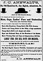 1881 - Samuel B Anewalt Newspaper Ad Allentown PA.jpg