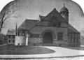 1891 Dedham public library Massachusetts.png