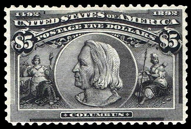 1892USstamp$5Columbus