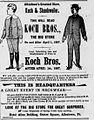 1895 - Koch & Shankweiler Last Newspaper Ad Allentown PA.jpg