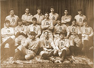 1899 Baltimore Orioles season - Team photograph