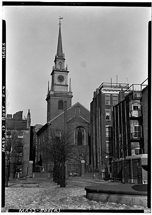 Paul Revere Mall; and Christ Church, 193 Salem...
