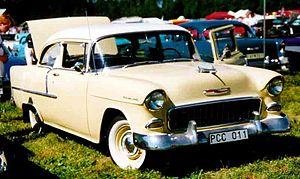 Chevrolet 210 - Image: 1955 Chevrolet PCC011