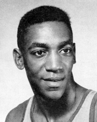Cosby as a basketball player during his Navy service in 1957 1957 December 23 US Navy Medicine photo of Bill Cosby.jpg