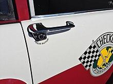 1958 Checker Standard series A8 taxi at Hershey 2015 AACA meet 3of7.jpg