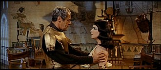 Rex Harrison - Harrison as Julius Caesar in the film Cleopatra for which he was nominated for an Academy Award