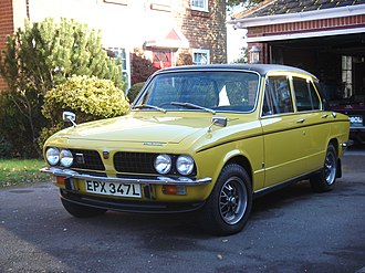 Compact executive car - 1973 Triumph Dolomite Sprint