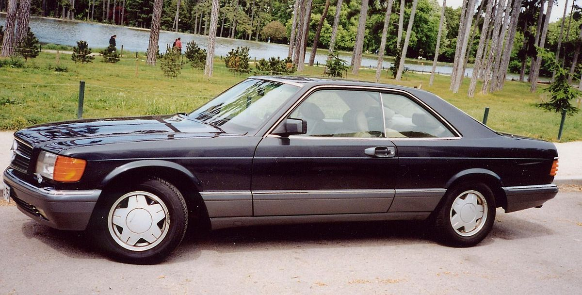 Mercedes benz c126 wikip dia for 1986 mercedes benz 560 sec