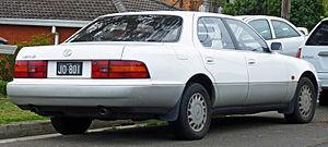 Lexus LS - 1990–1992 Lexus LS 400 (UCF10R; Australia)