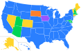 1992 Democratic Primary Results.svg