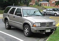 Rainier motor car company wikivisually oldsmobile bravada 19982001 bravada fandeluxe Choice Image