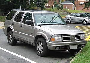 Oldsmobile Bravada - 1998–2001 Bravada