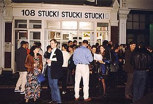 Stuckism - Stuck! Stuck! Stuck!, the first Stuckist show, 1999.