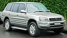 Facelift Toyota RAV4 5 Door (Australia)