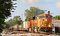 1 3 BNSF 8937 Leads WB Military Vehicles Olathe, KS 8-30-17 (36142095403).jpg