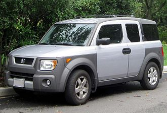 Honda Element - Image: 2003 2006 Honda Element 08 28 2011