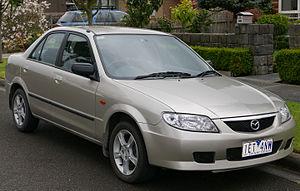 Mazda Familia - 2003 Mazda 323 (BJ) sedan