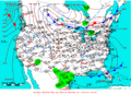 2005-03-06 Surface Weather Map NOAA.png