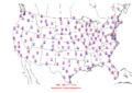 2006-04-27 Max-min Temperature Map NOAA.png