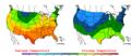 2006-05-04 Color Max-min Temperature Map NOAA.png