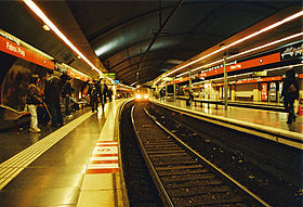 Image illustrative de l'article Fabra i Puig (métro de Barcelone)