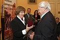 2007 Likhachev Foundation Prize ceremony - Veronika Matsak and Daniil Granin.jpg