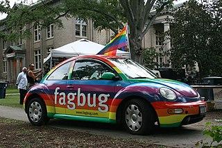 <i>Faggot</i> (slang) Homophobic slur