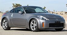 Captivating Second Facelift Nissan 350Z (US)