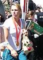 2008 Summer Olympics Australian Parade in Sydney - Lyndsie Fogarty - Flatwater Kayak.jpg