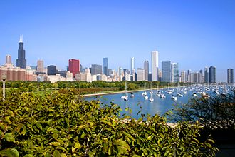 Great Lakes region - Image: 2009 09 18 3060x 2040 chicago skyline